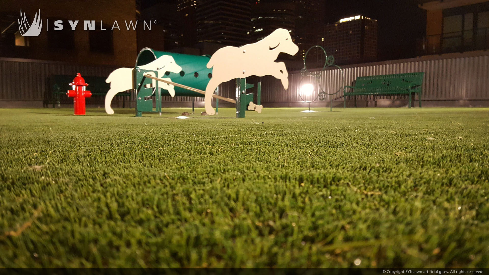 pet turf artificial grass park for dogs