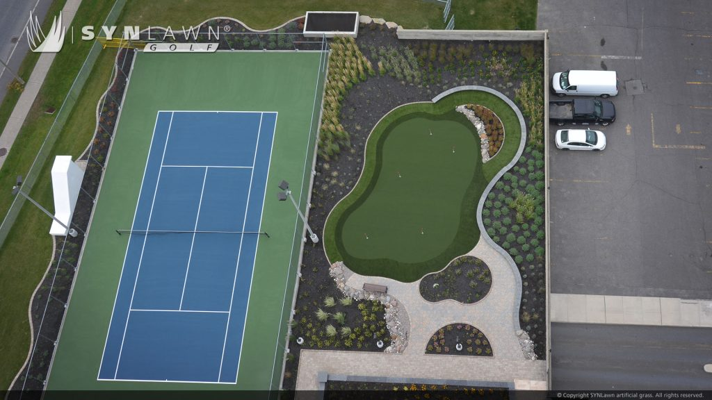 putting green by synlawn Indiana