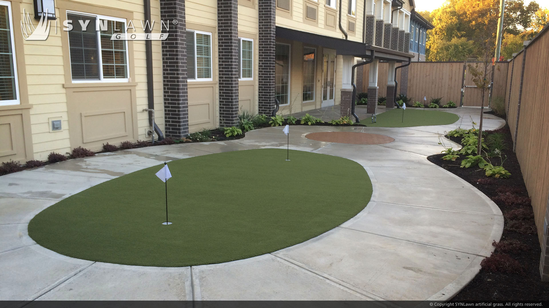 artificial grass for putting green residential