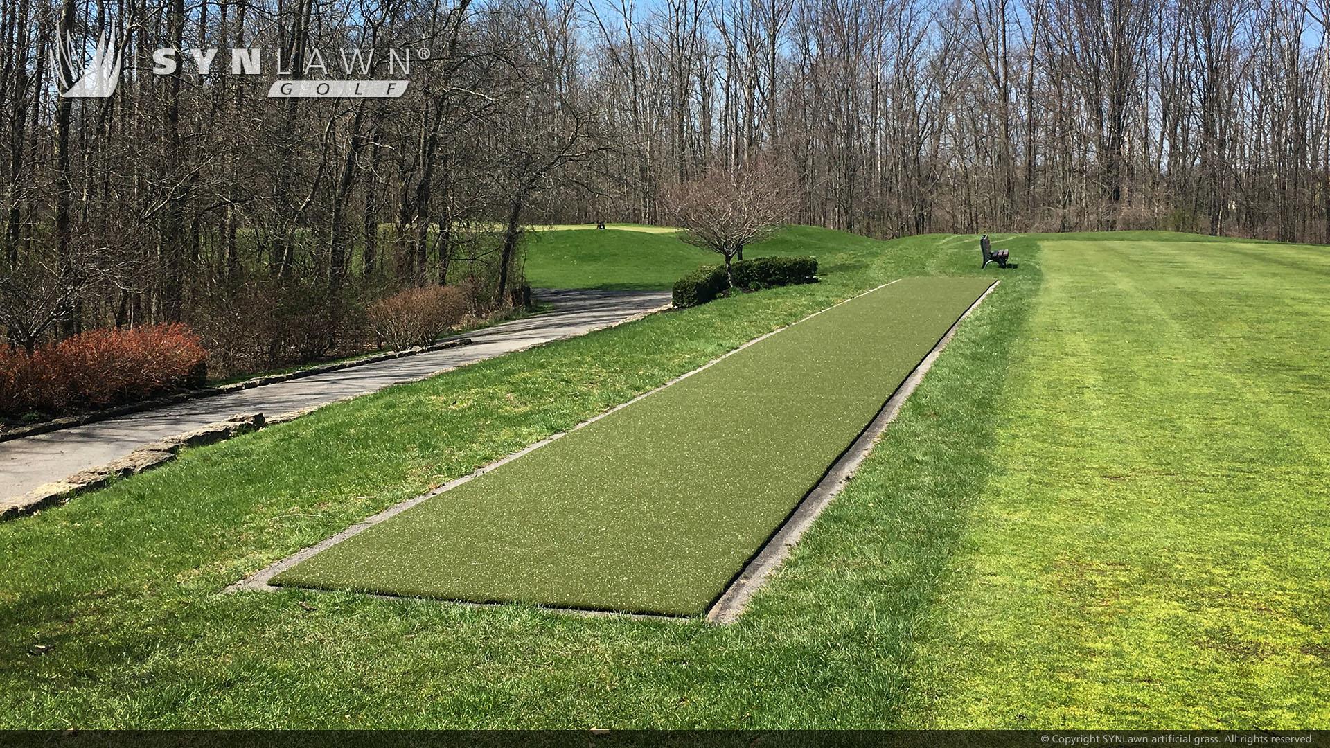 driving range putting green artificial grass