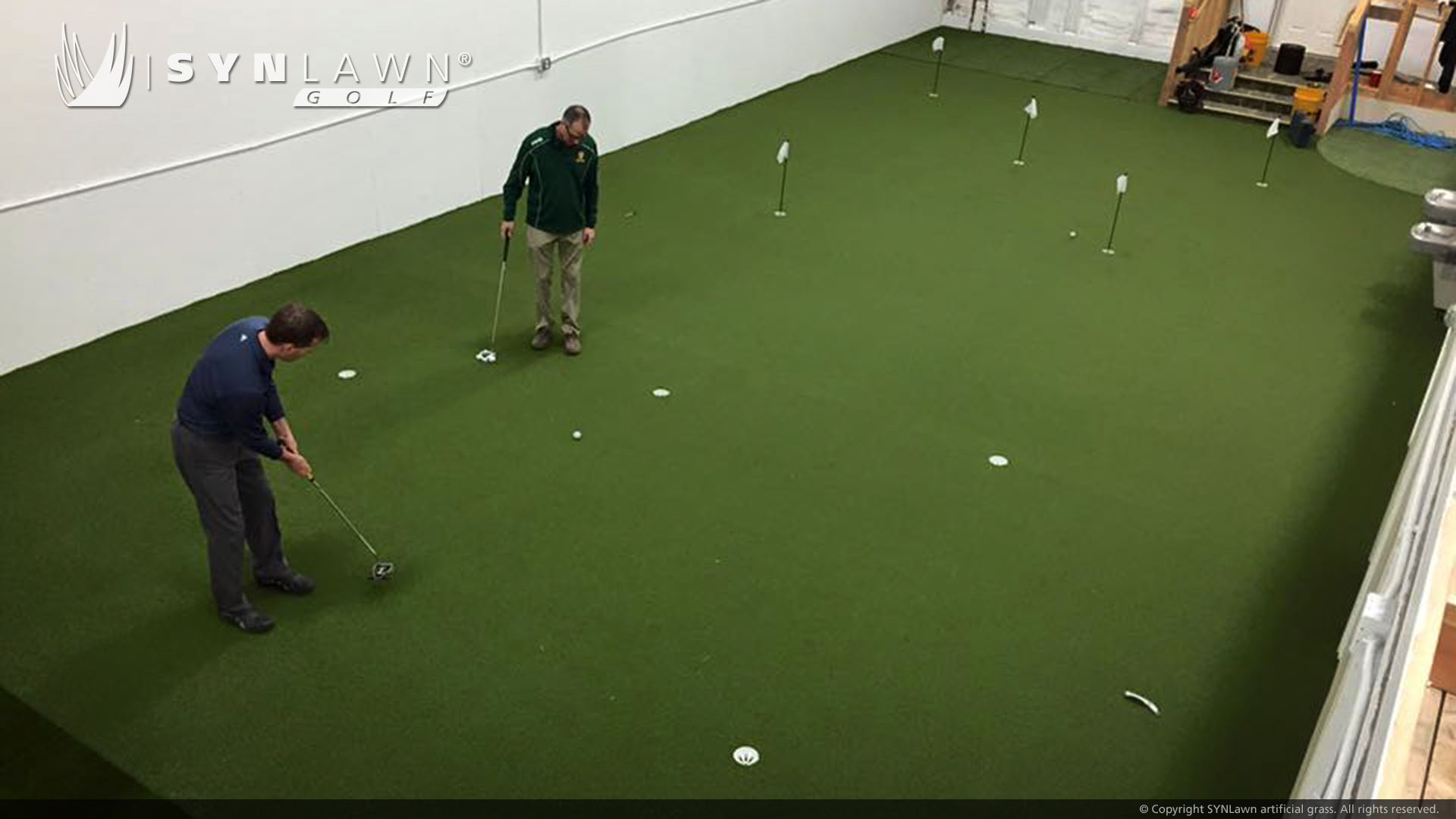 putting green, indoor use artificial grass Indiana