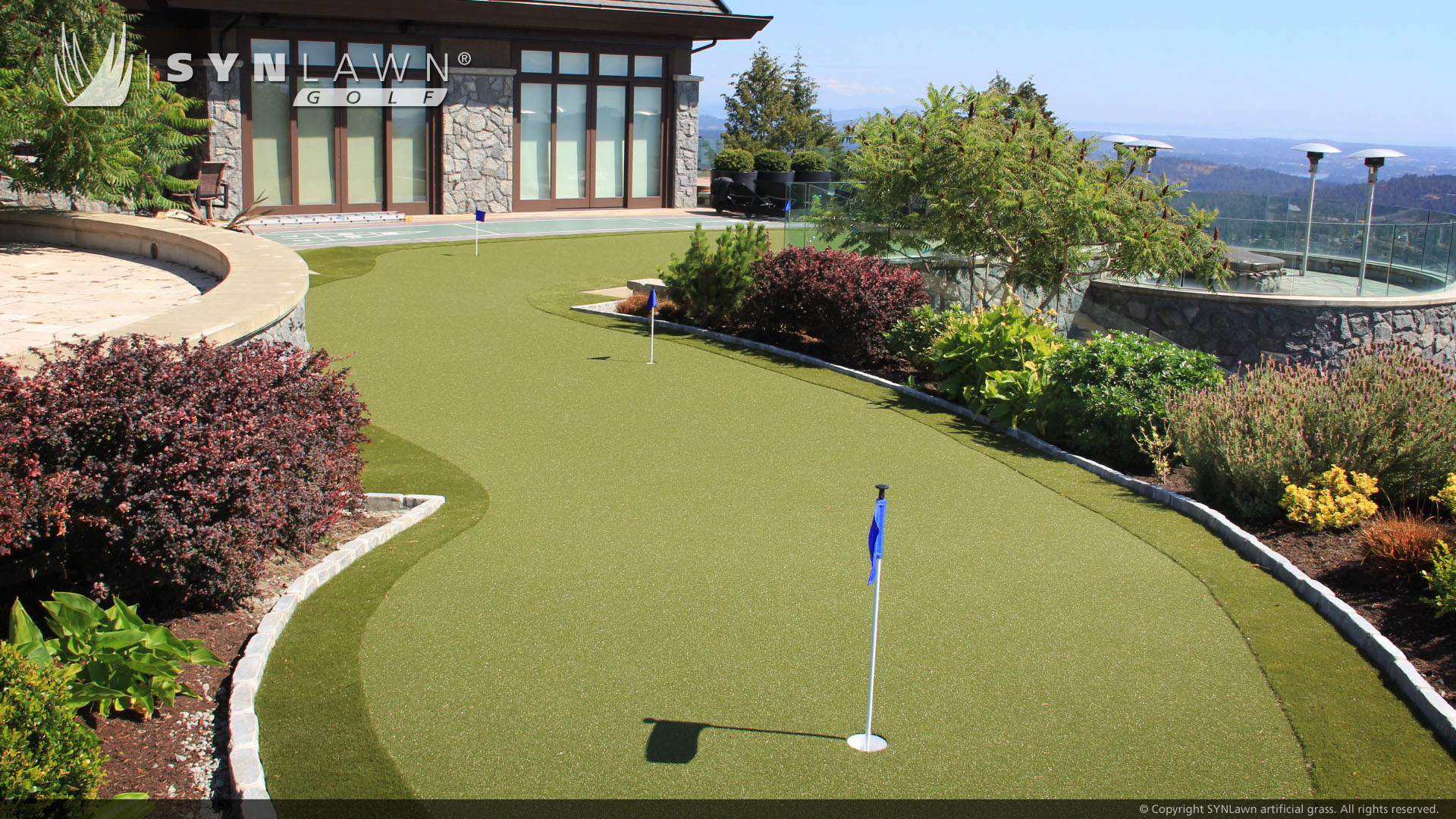 putting green for residential home