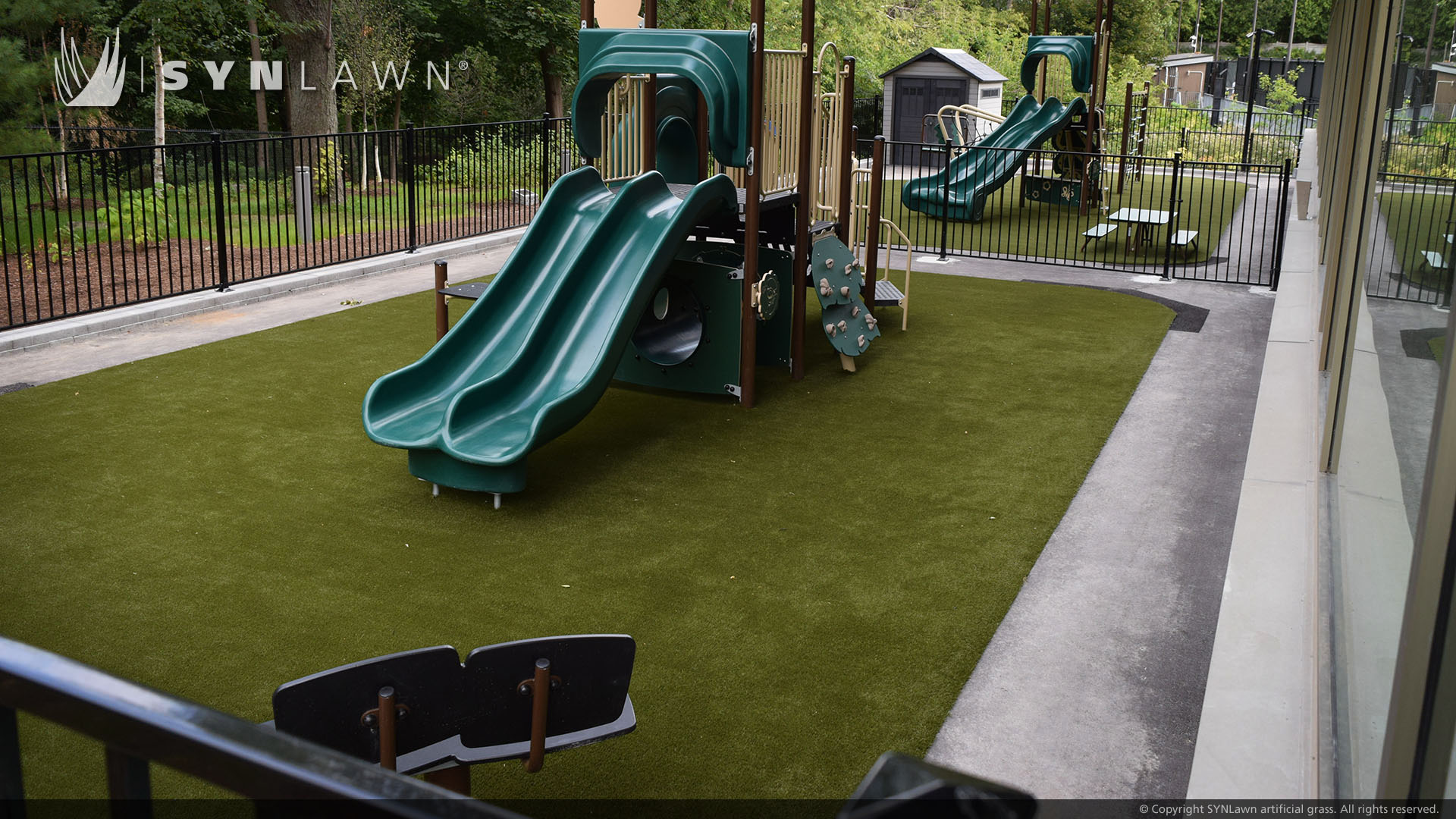 Affordable artificial grass for playground