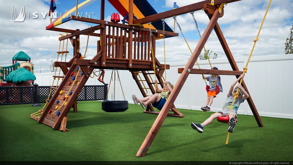 artificial grass for daycare playground