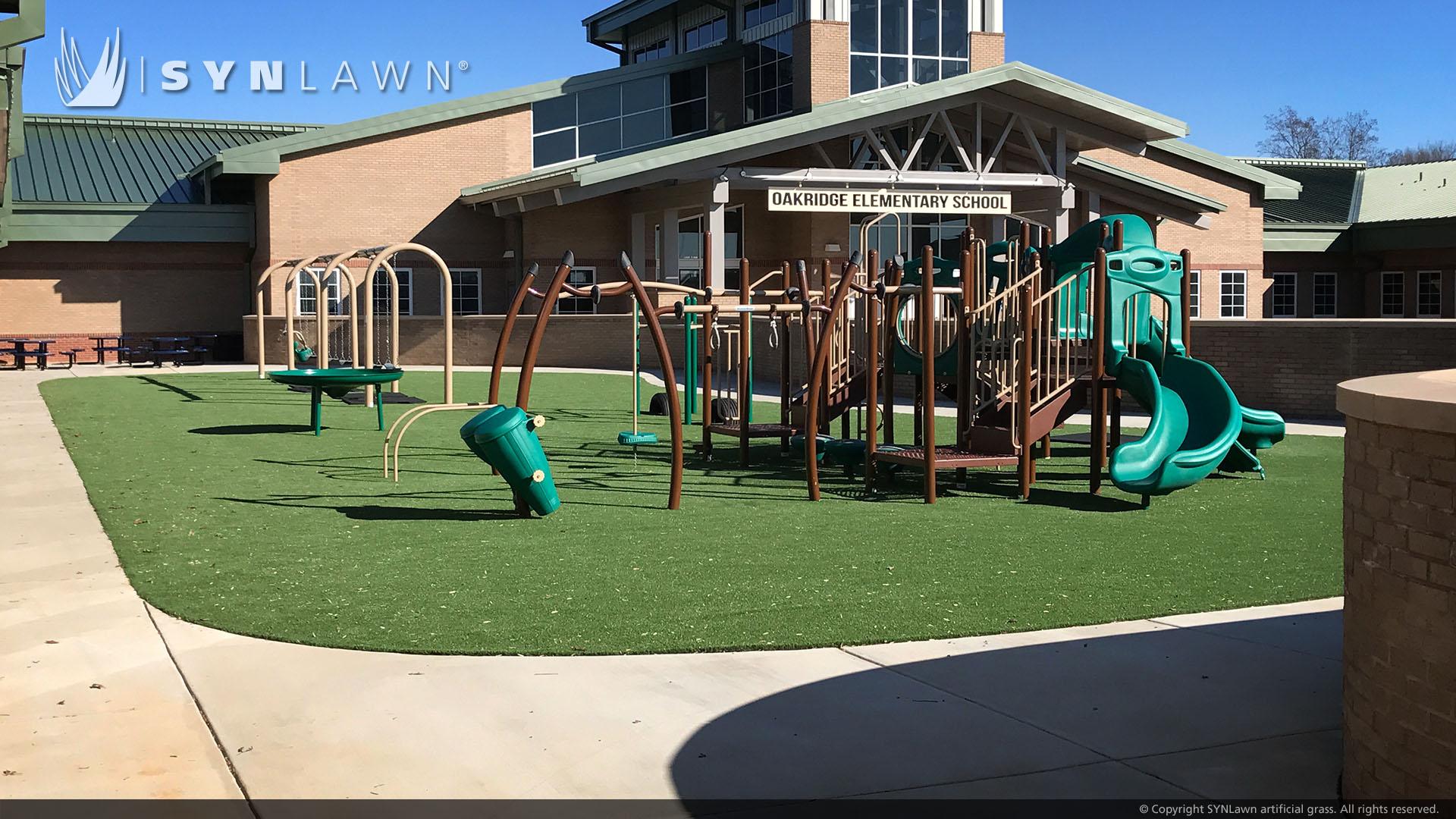 elementary school playground artificial grass