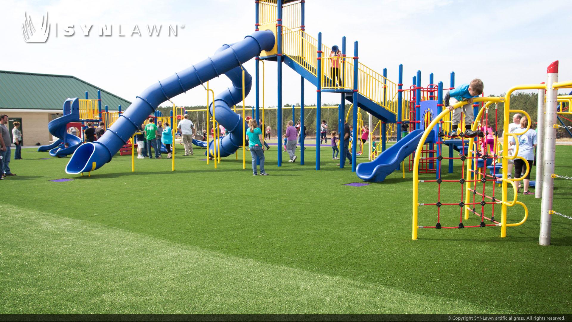 artificial grass, municipal playground