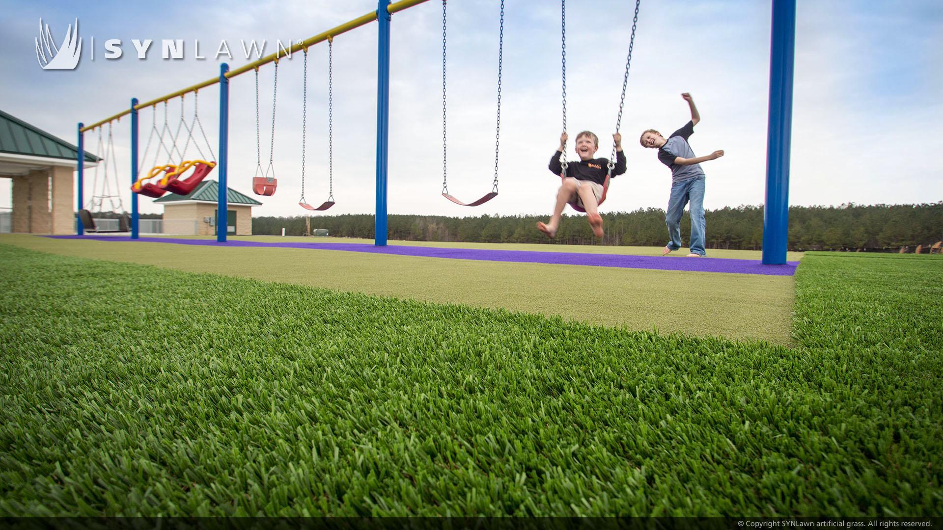 artificial grass for community park