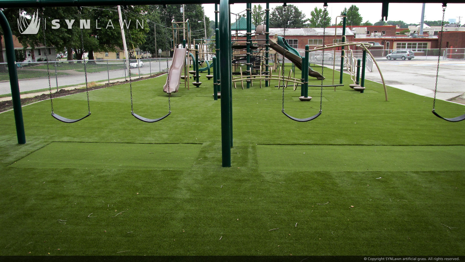 playground artificial grass for school