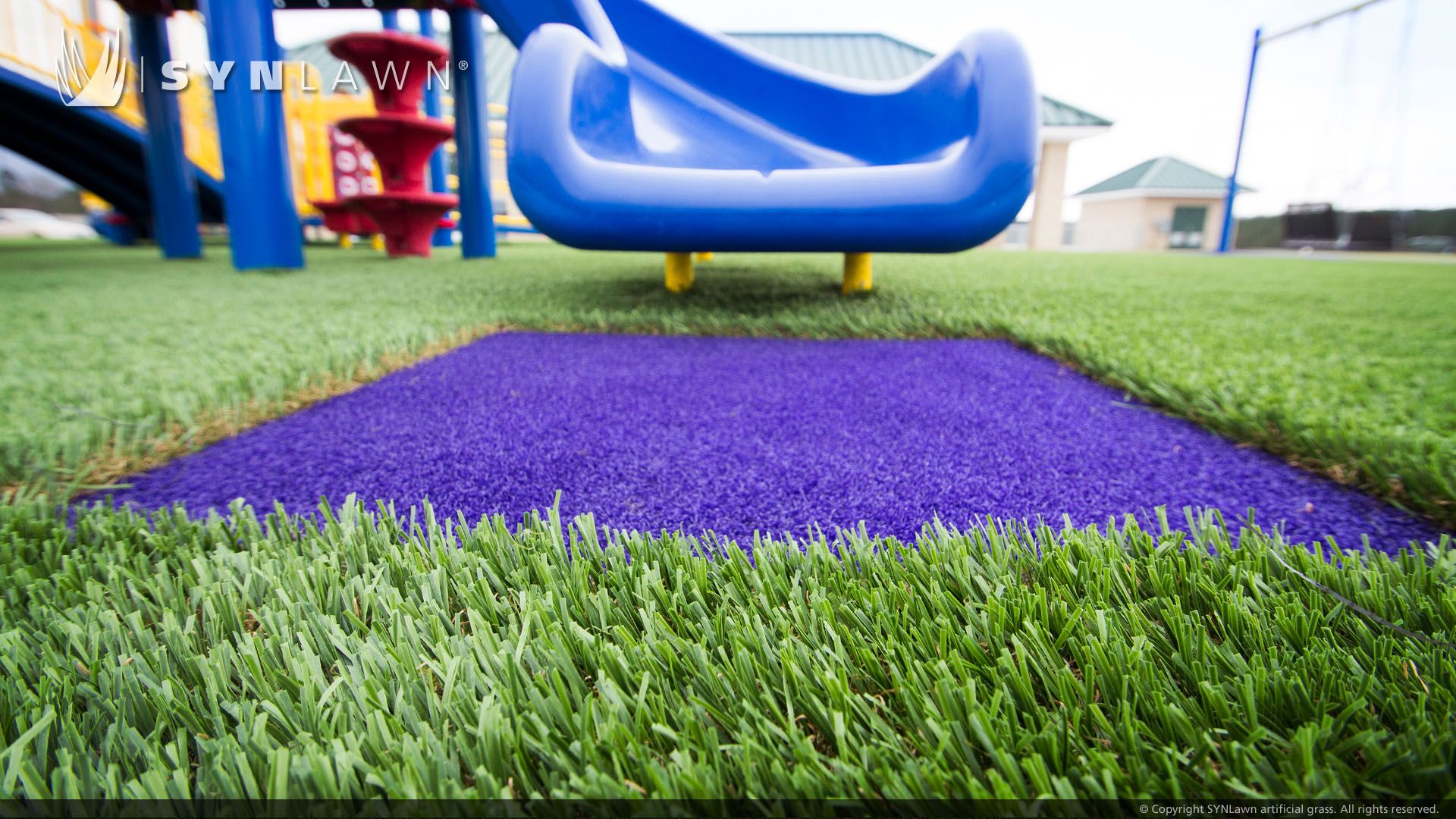 artificial grass for Indiana playground