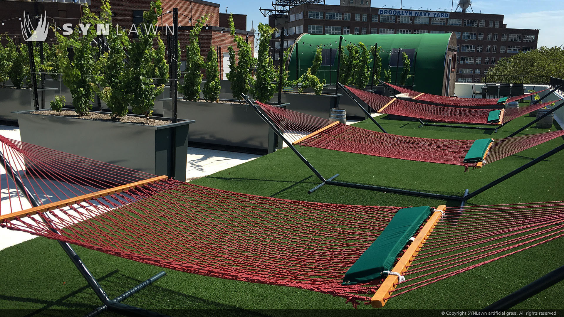 artificial grass for rooftop Indiana