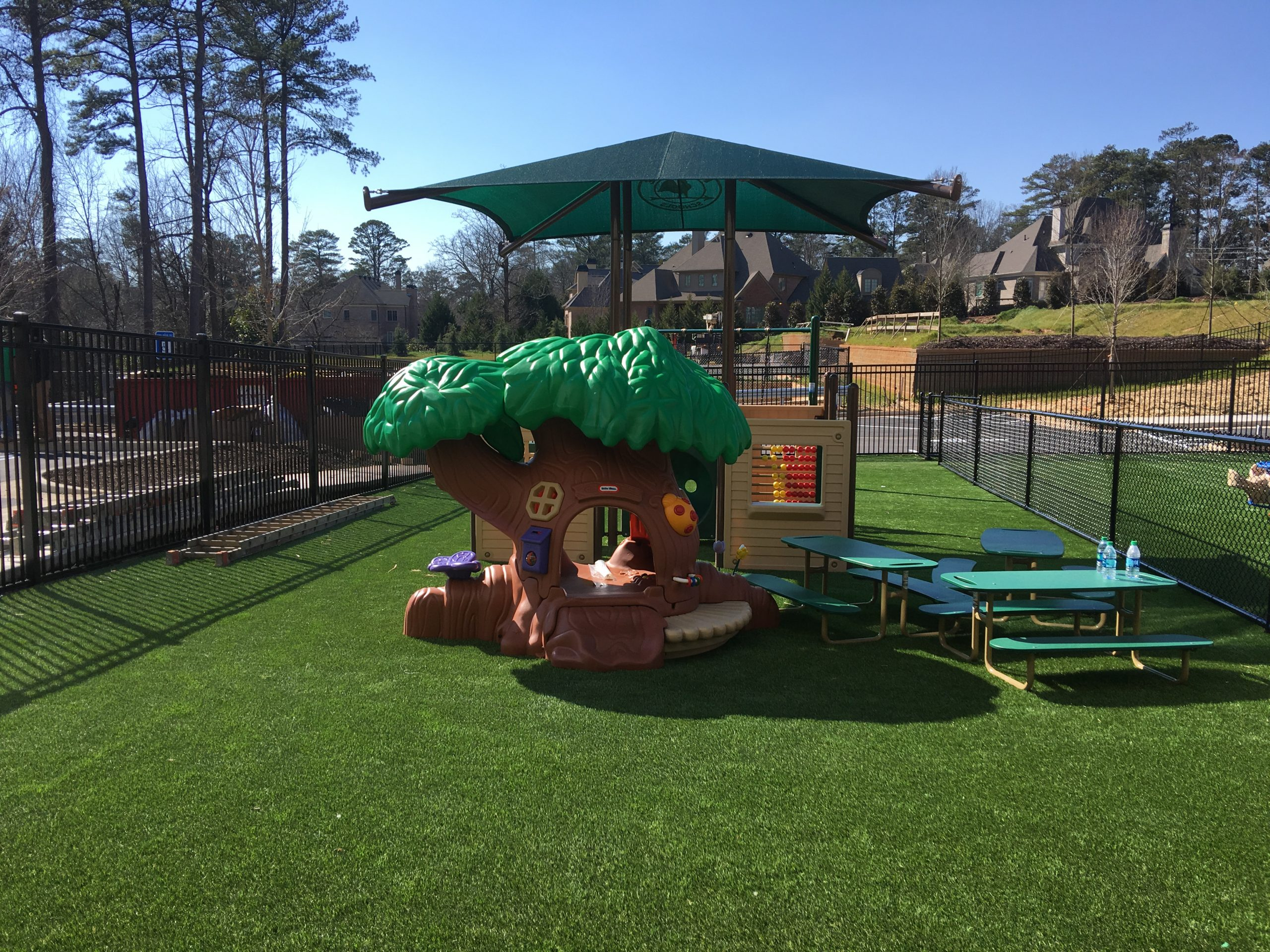 residential playground artificial grass