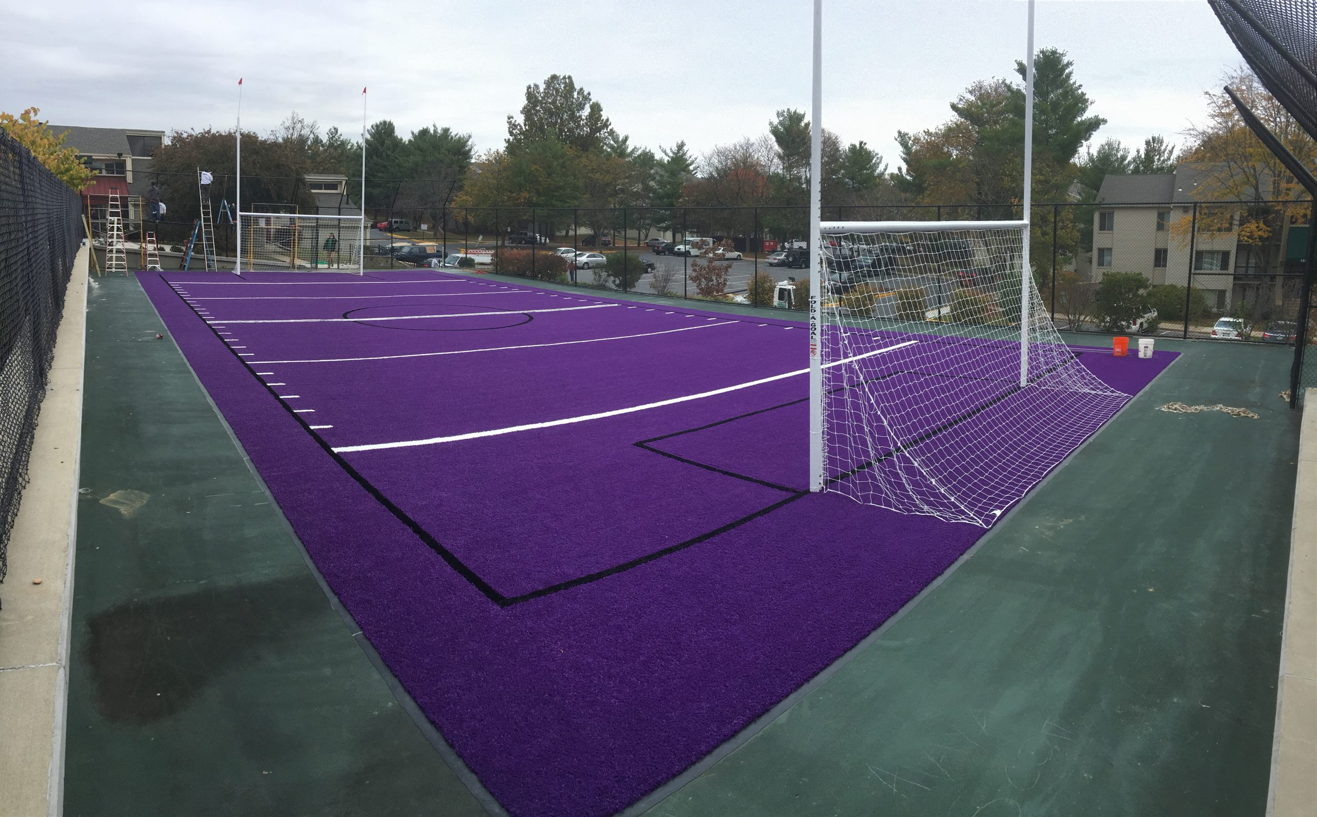 artificial grass for residential sports