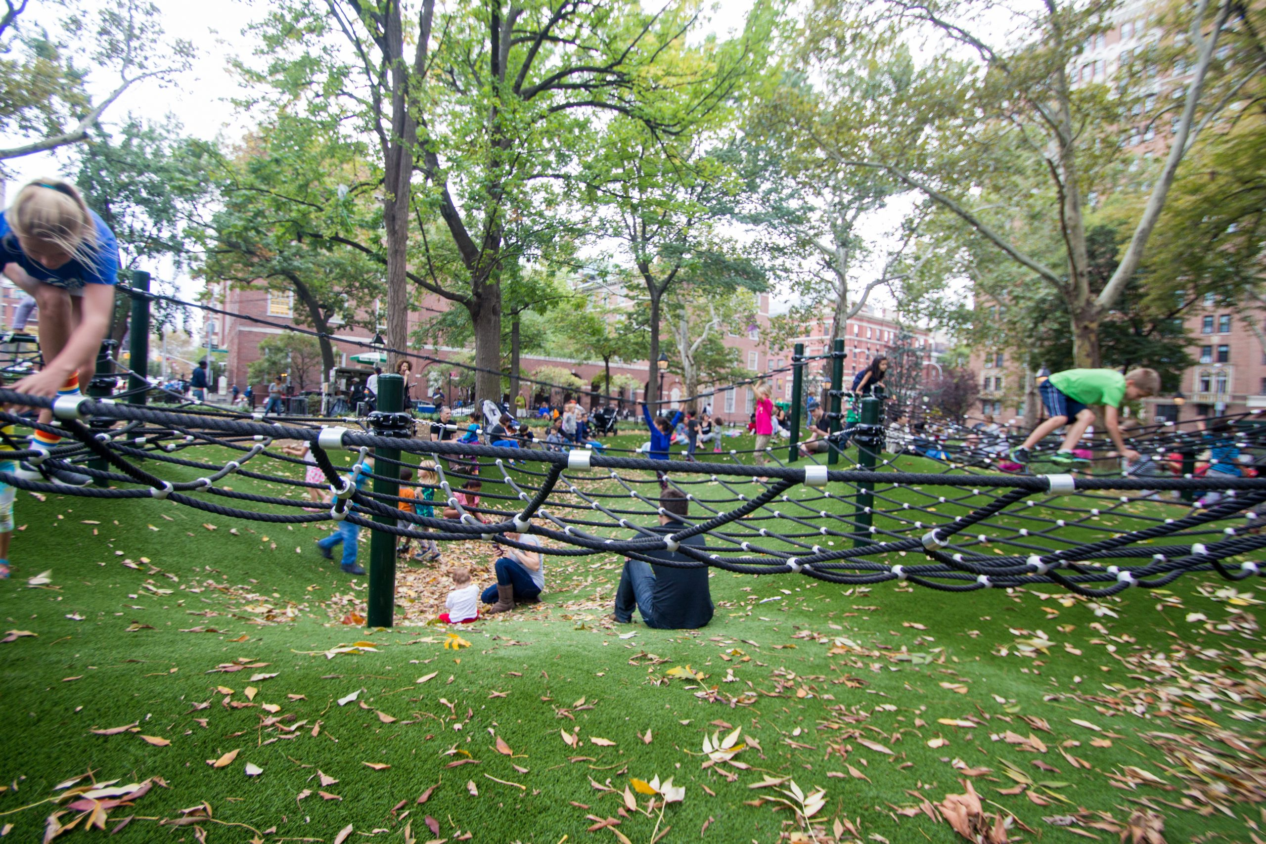 artificial grass, playground