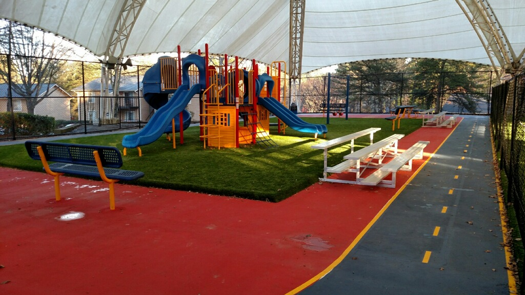 playground in residential complex