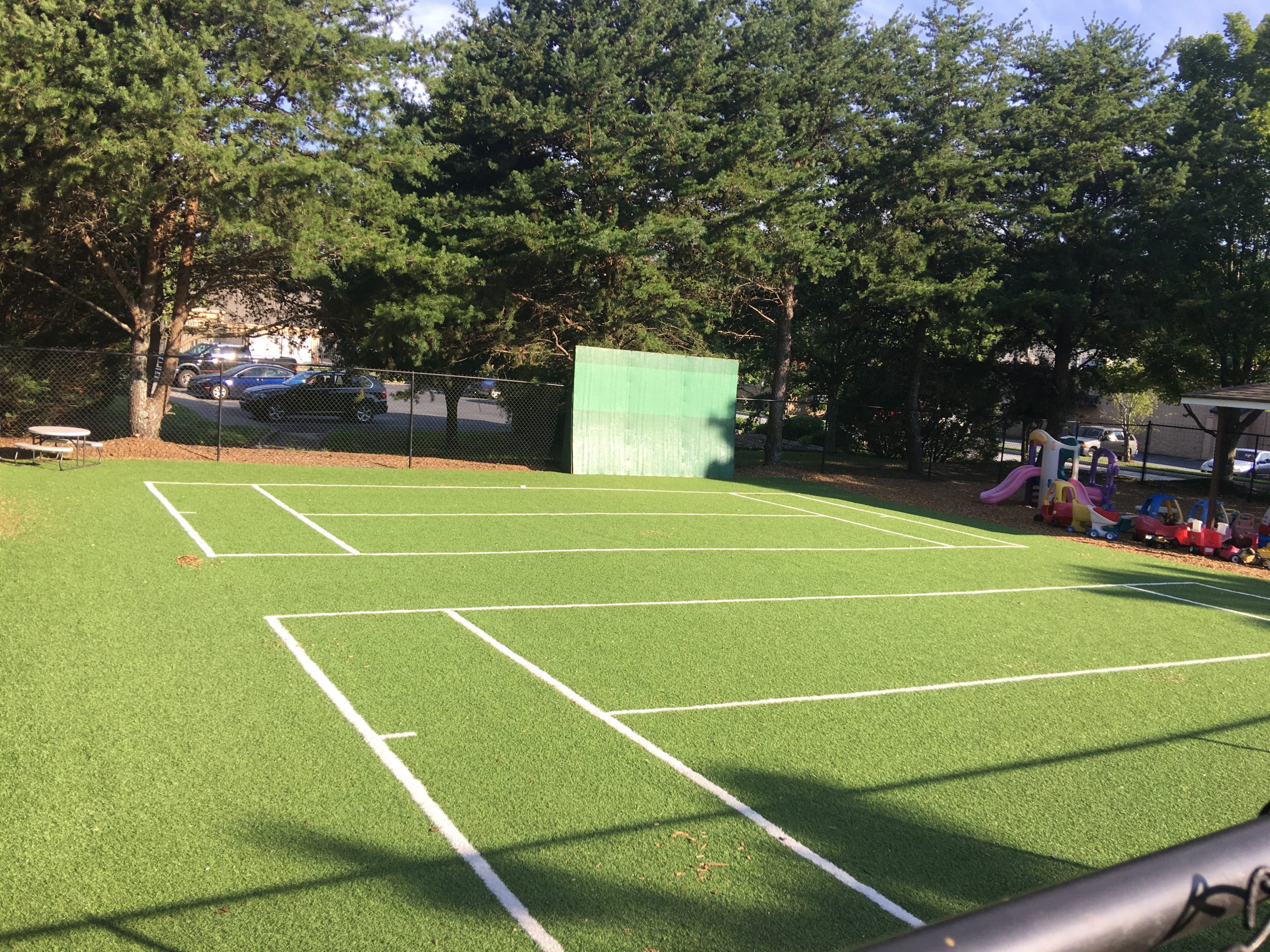 artificial turf for playground and sports use