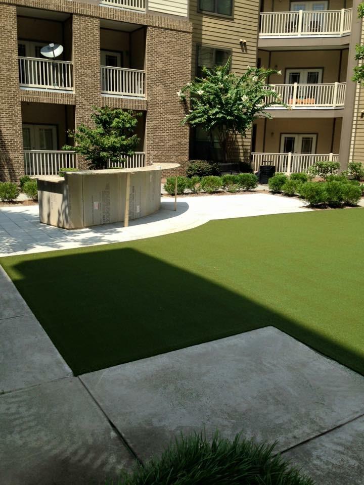 residential lawn artificial grass
