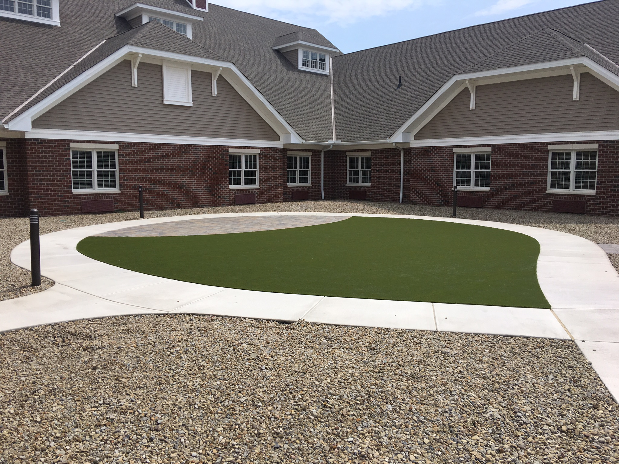 commercial lawn artificial grass