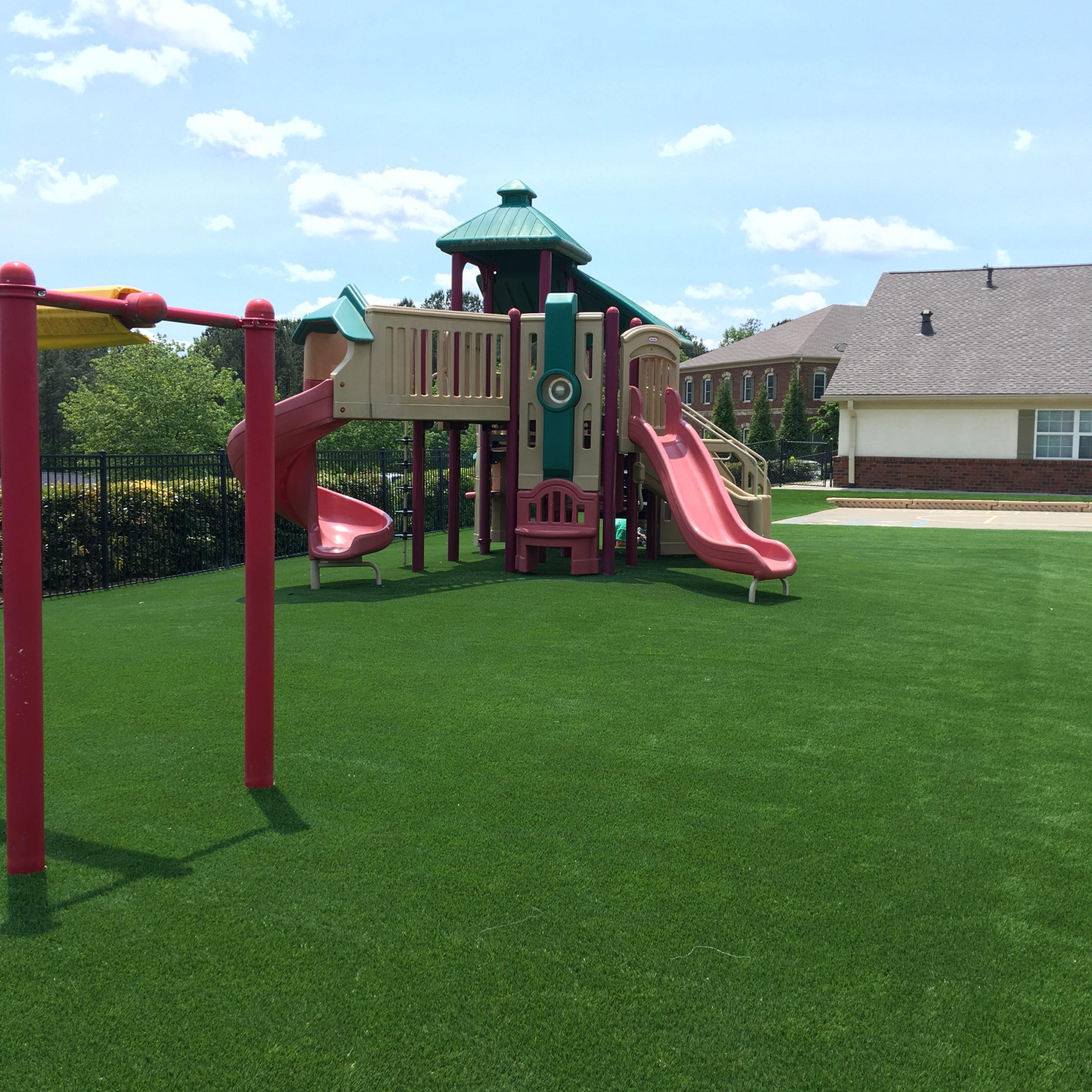 playground grass, artificial lawn