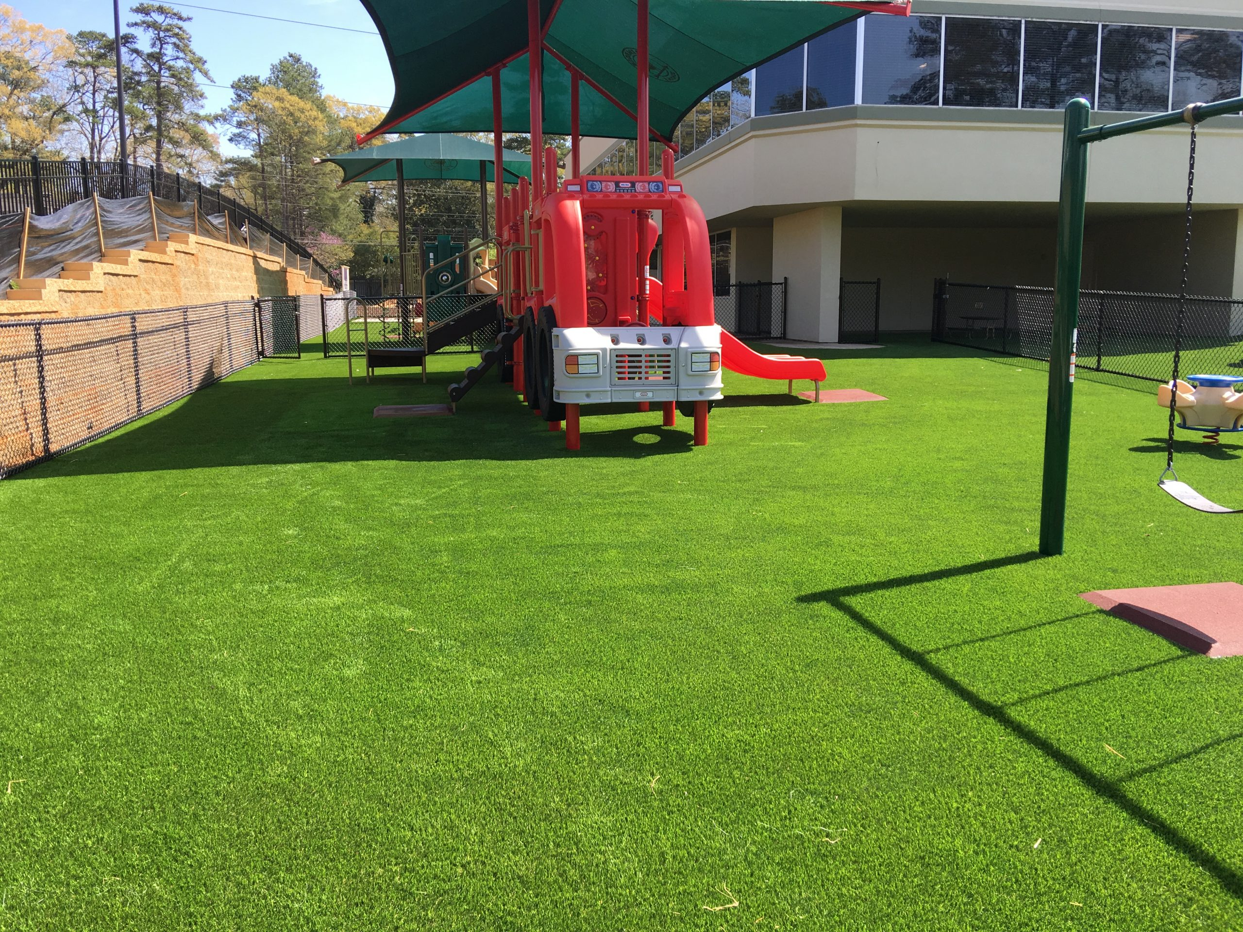 artificial grass for school playground Indiana