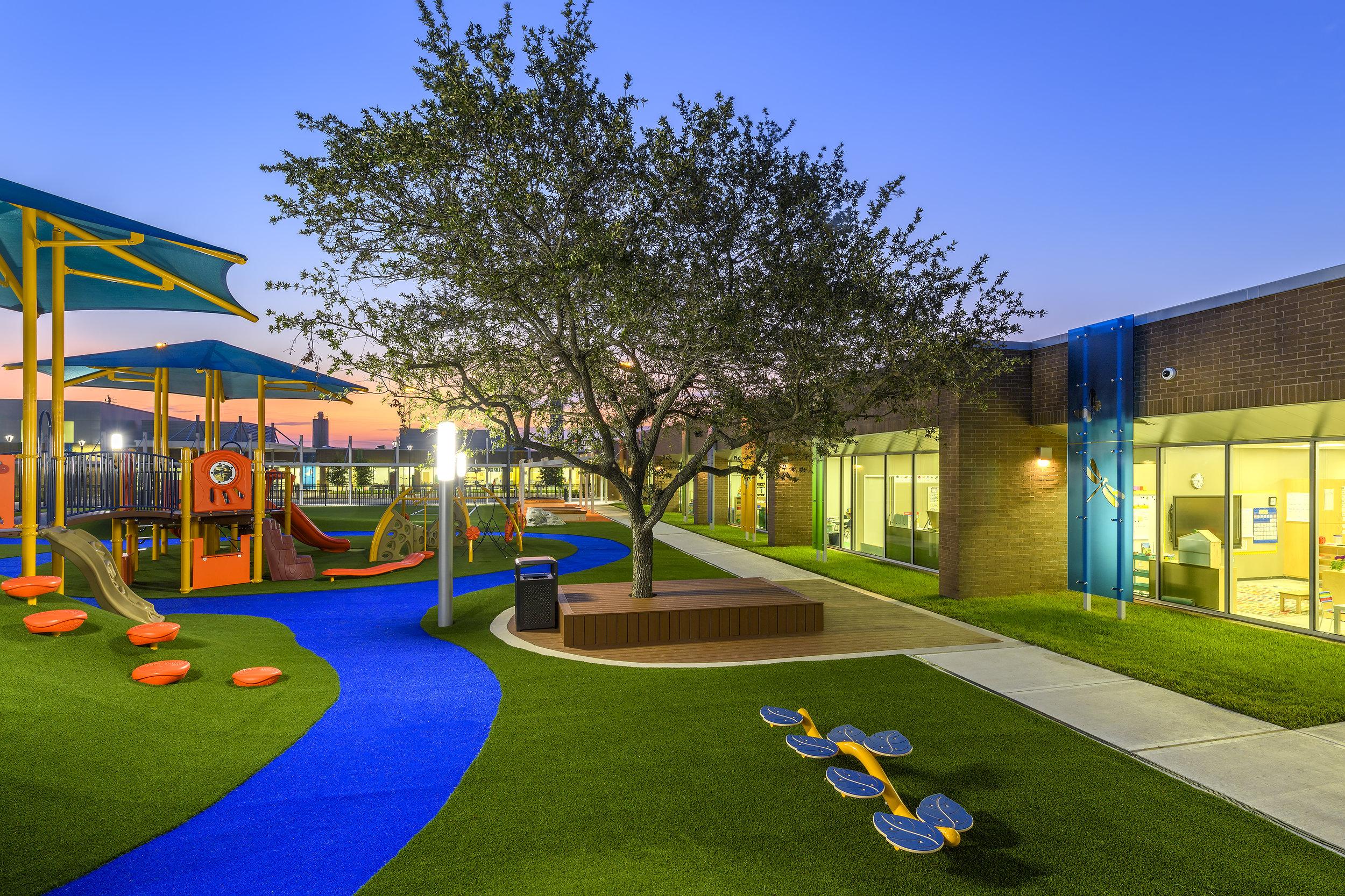 school playground turf