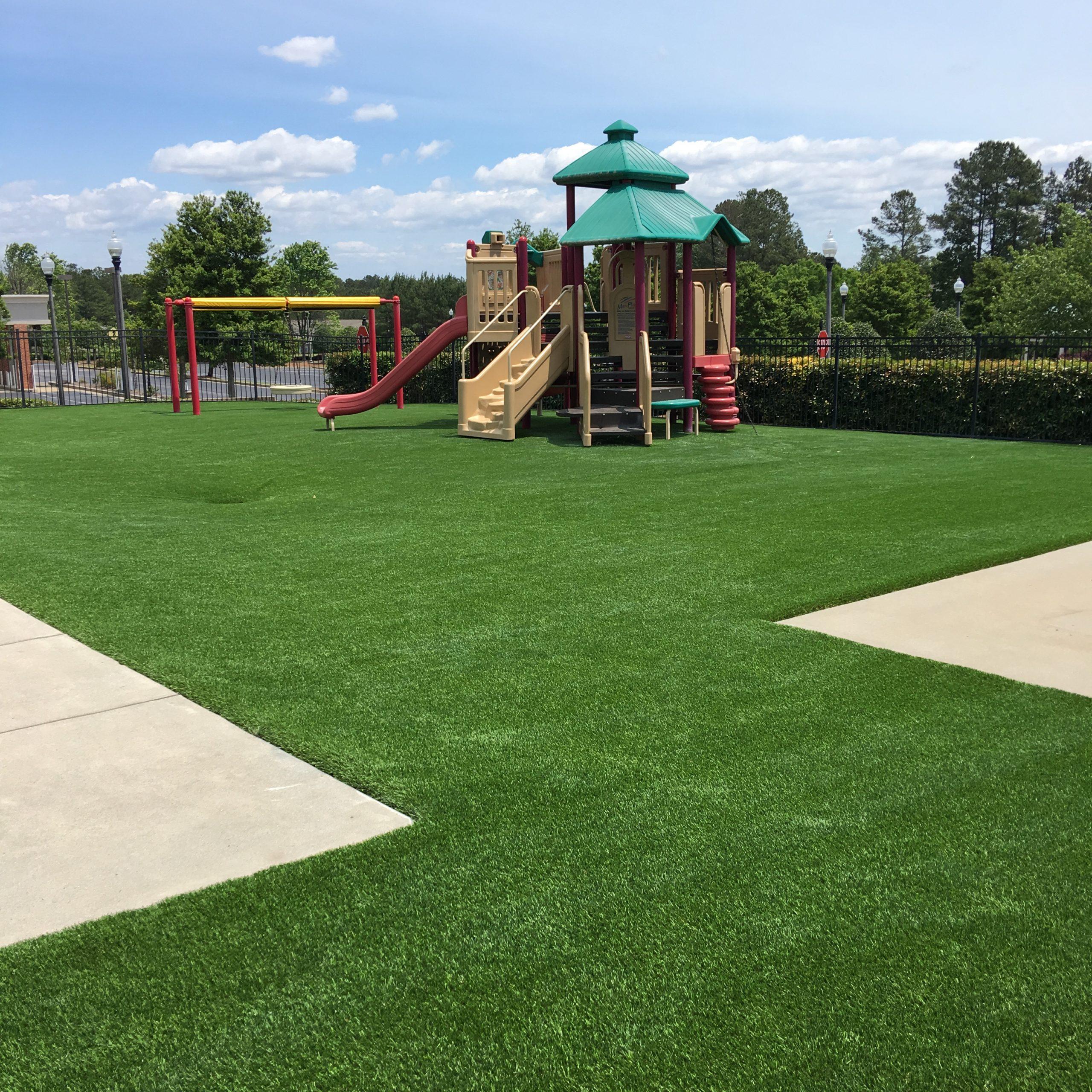 playground turf installation
