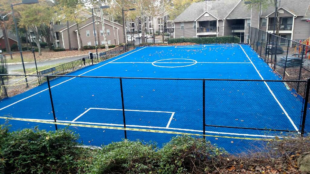 sports turf, for residential complex