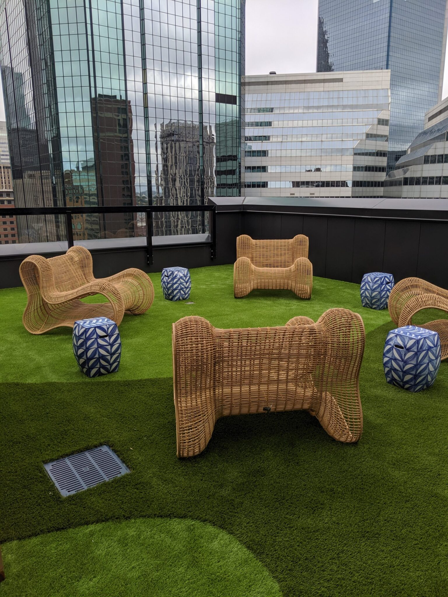 rooftop artificial grass that's affordable