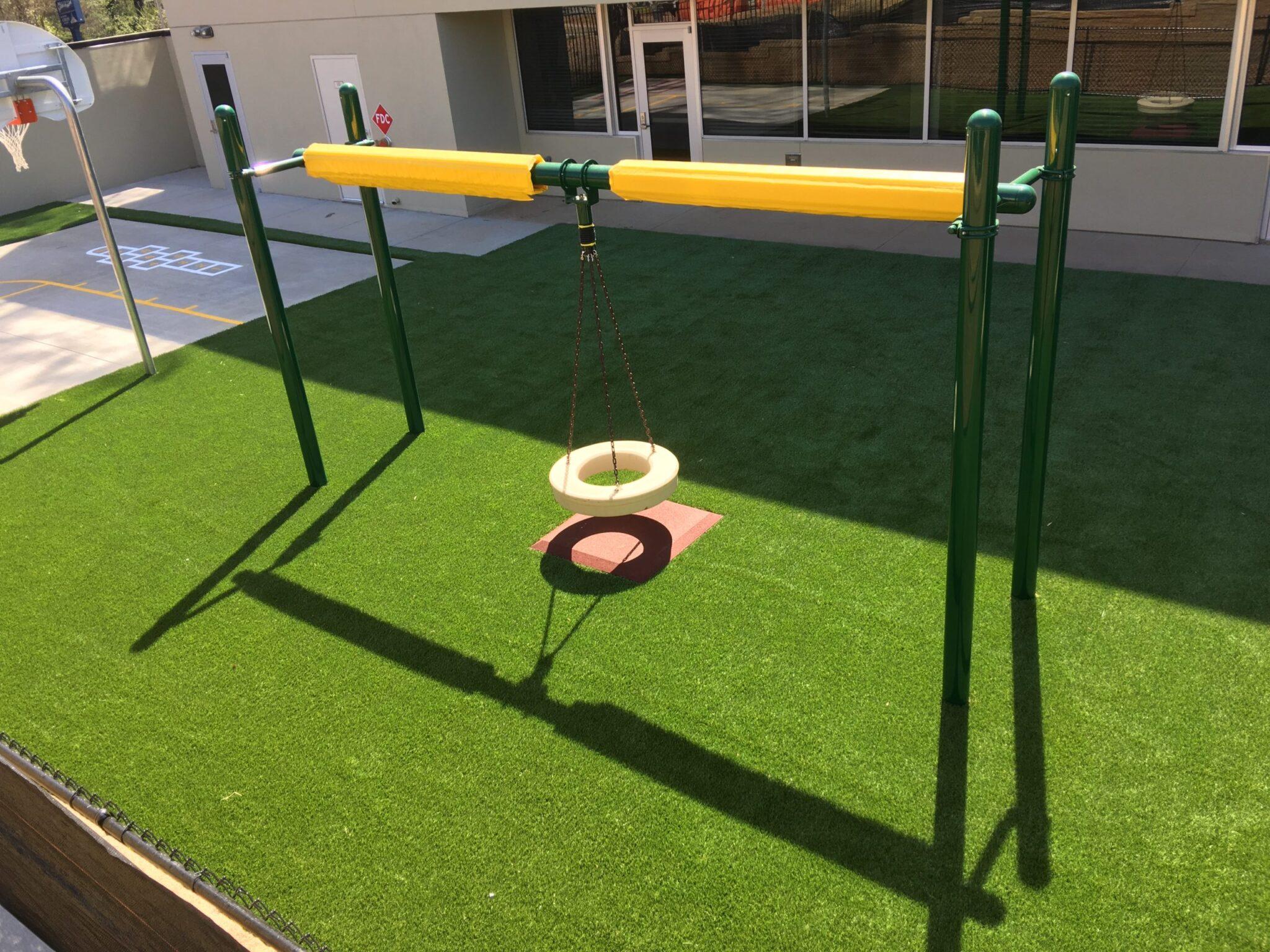 playground turf install