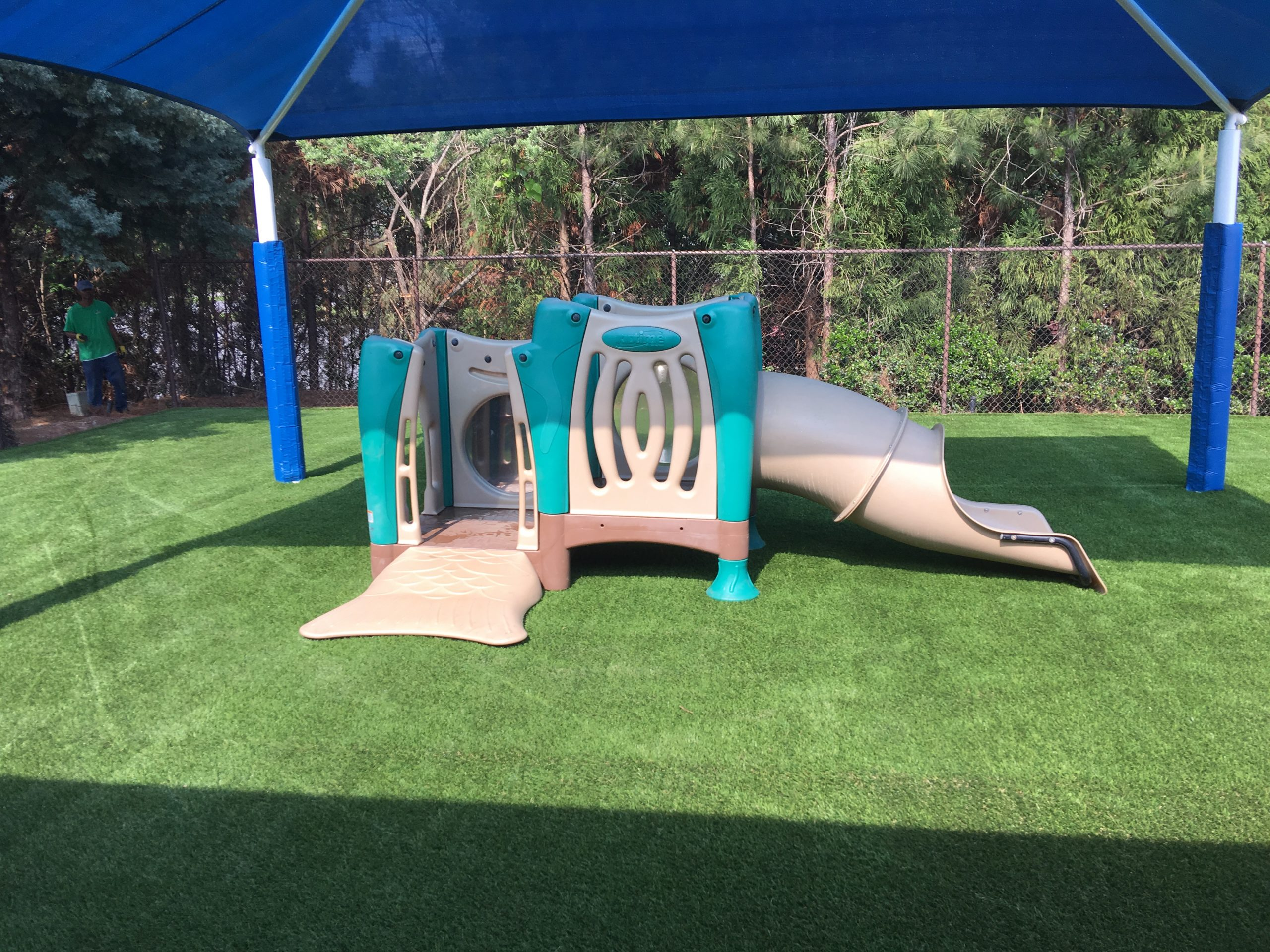 artificial grass, for Indiana playground