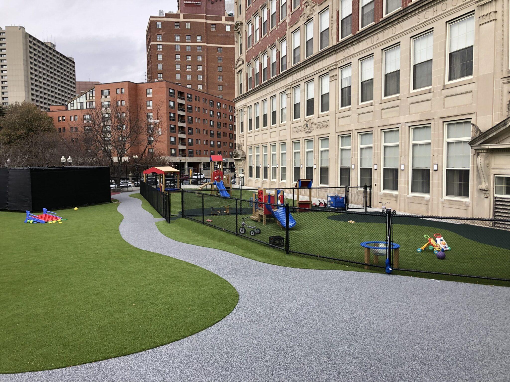 play area artificial grass installation near me