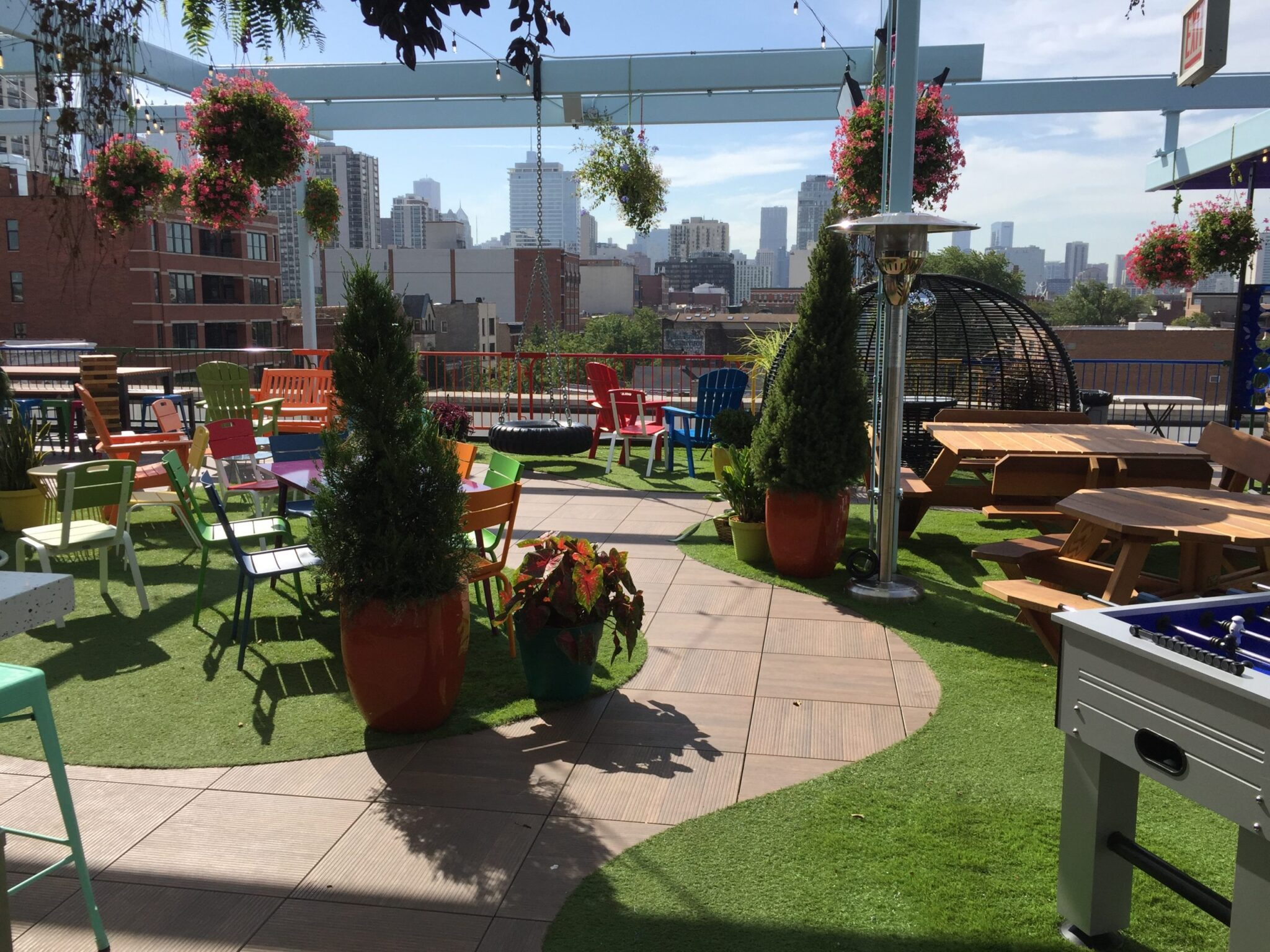 affordable turf for rooftops