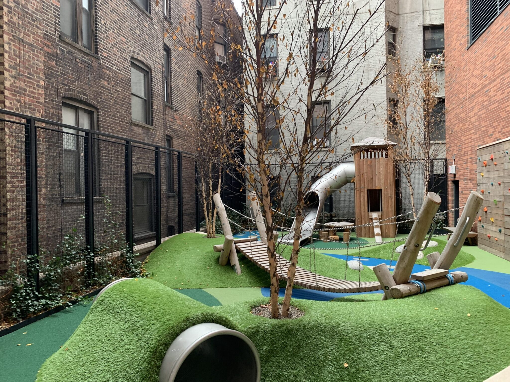 playground, artificial grass installation