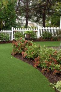 artificial grass for residential backyard