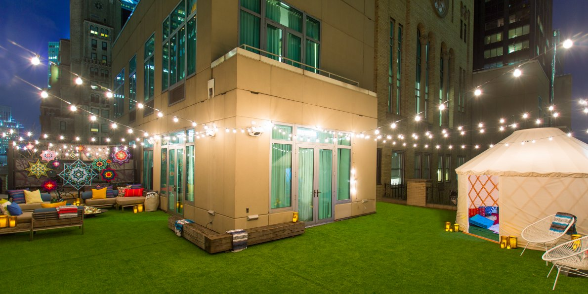 artificial grass for residential community