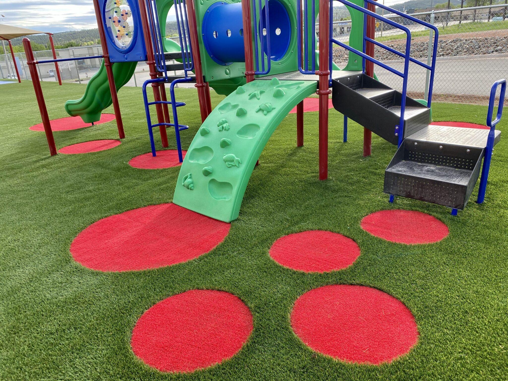 school playground artificial grass