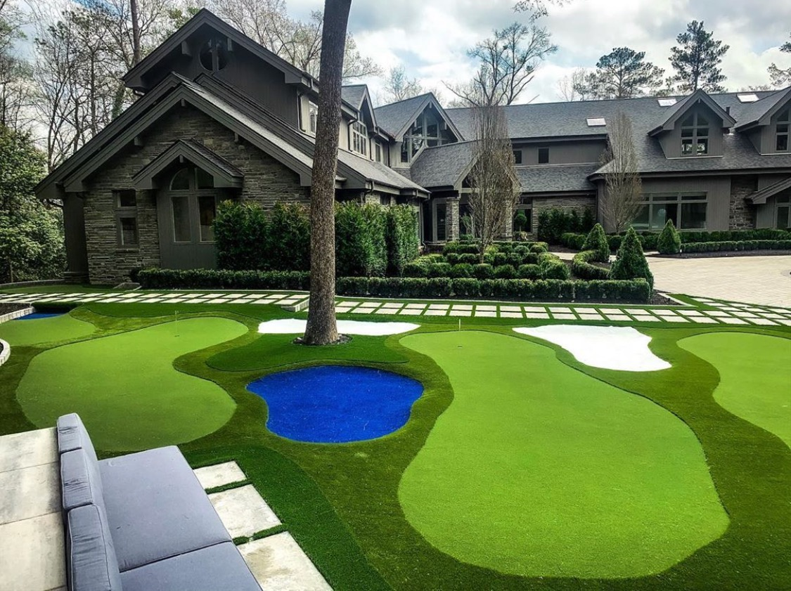 putting green for residential homes in Indiana