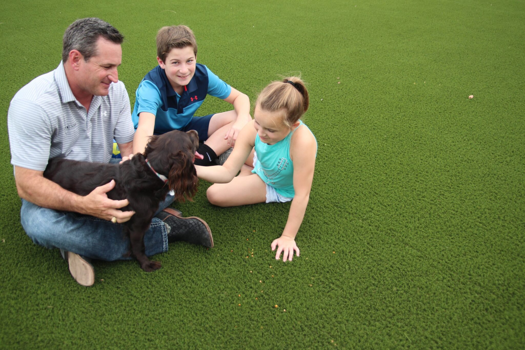 Family and pet turf, local installation