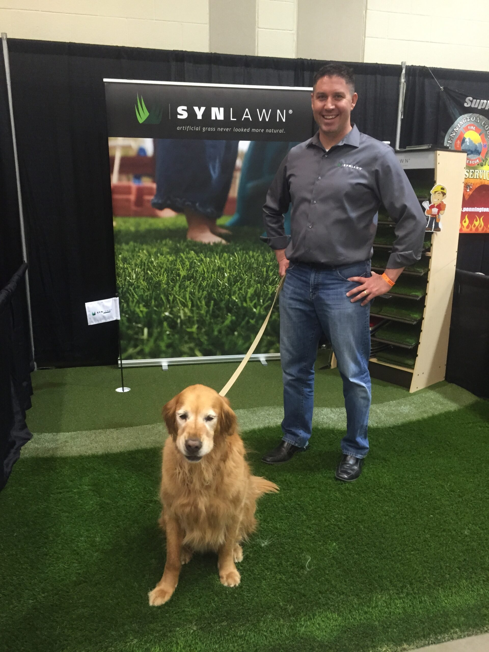 synlawn artificial grass event