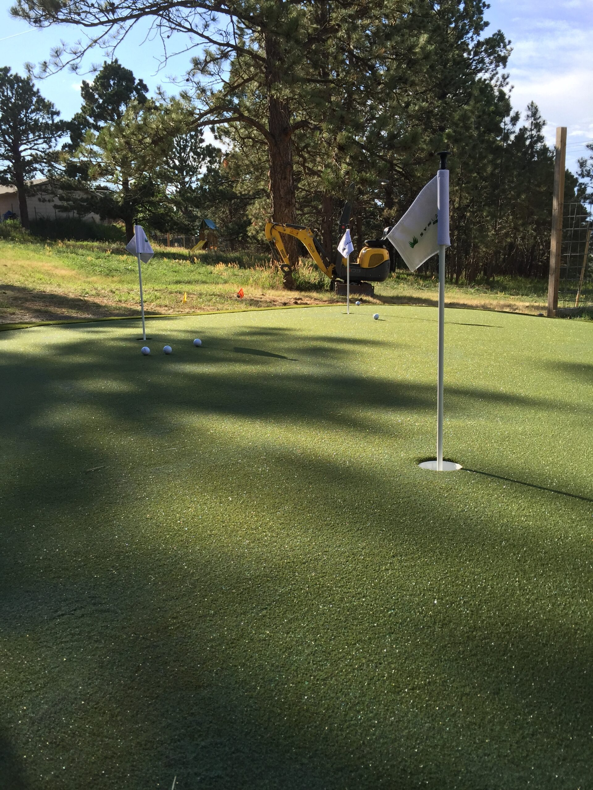 residential putting green installation near me