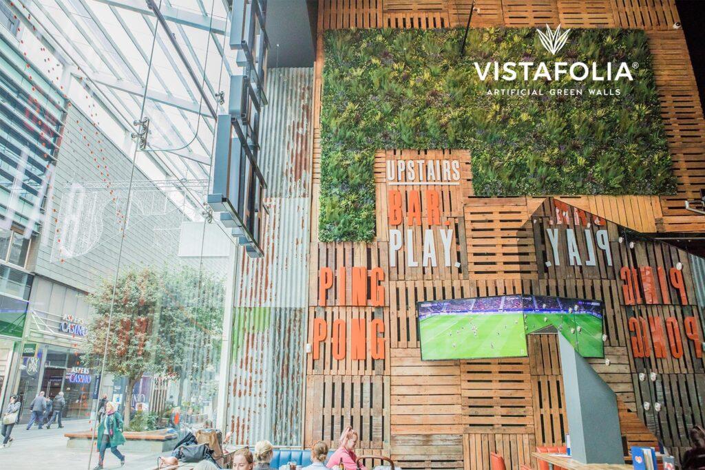 vistafolia artificial green walls commercial