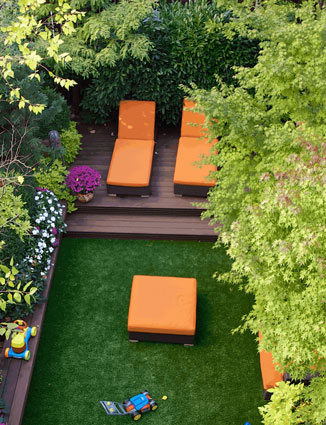rooftop artificial grass in Indiana