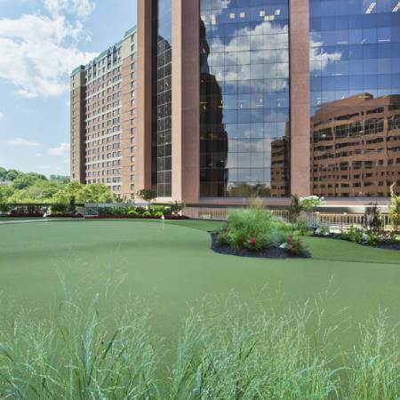 SYNLawn Indiana commercial artificial putting green turf